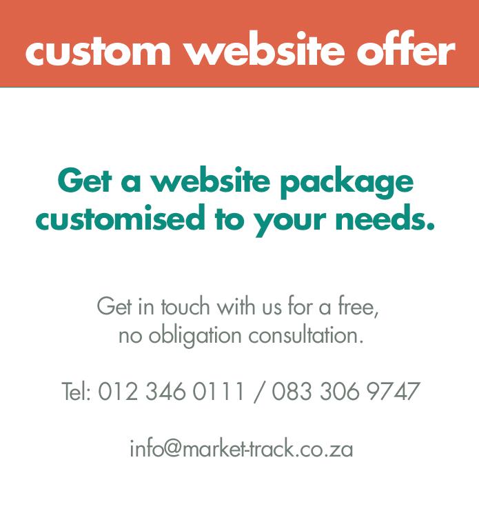 custom website offer